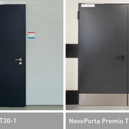 NovoPorta Premio T30 fire resistant doors (EI2 30)