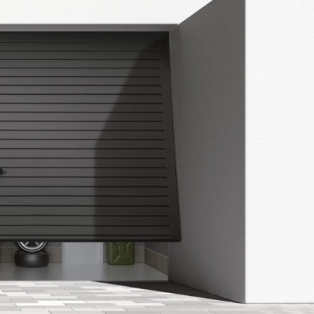 Up-and-over garage doors