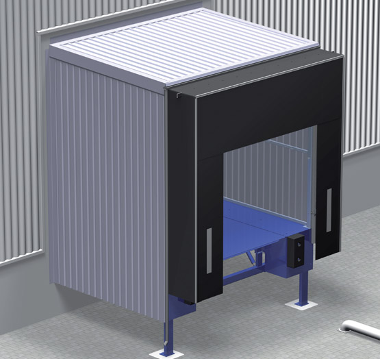 NovoDock H 1300 and H 1500 loading solutions
