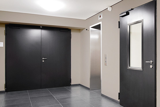 NovoPorta Premio steel doors (thick rebate)