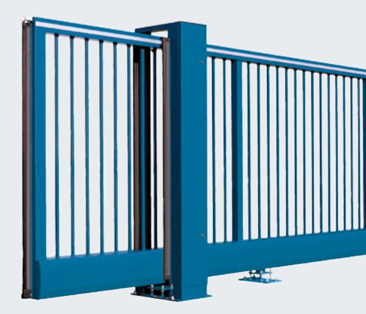 Steel Sliding Gates HS