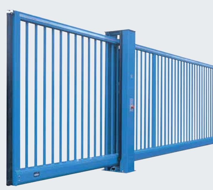 Steel Sliding Gates HSS
