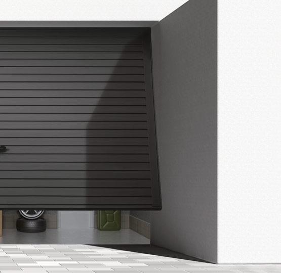 Up-and-over garage doors